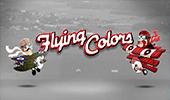 Автомат Flying Colors играть в казино Вукан Платинум картинка логотип