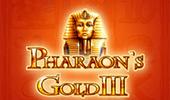 Pharaohs Gold III от Вулкан игровых автоматов на деньги в онлайн игровом клубе картинка логотип