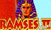 Ramses II Deluxe в онлайн игровом клубе игровых автоматов Вулкан на реальные деньги картинка логотип