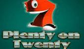 Играть в Plenty On Twenty на портале автоматов Вулкан клуба онлайн картинка логотип