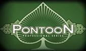 Играть в Pontoon Pro Series на портале автоматов Вулкан клуба на реальные деньги онлайн картинка логотип