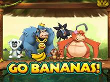Играть онлайн в Вперед Бананы