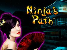 Автомат Путь Ниндзя в казино Вулкан 24