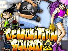 На официальном сайте Vulkan Demolition Squad